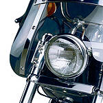 National Cycle Heavy Duty Narrow Frame Windshield Mount Kit - Chrome - Motorcycle Windshields & Accessories