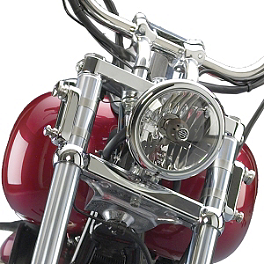 National Cycle Switchblade Windshield Mount Kit - 2006 Harley Davidson Night Train - FXSTB National Cycle Light Bar