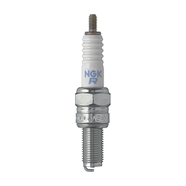 NGK Spark Plug CR8E - 2007 Suzuki RMZ250 Turner Hot Start Connector