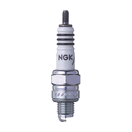 NGK Iridium IX Spark Plugs - 2005 Honda Rebel 250 - CMX250C Sunstar Steel Rear Sprocket 520