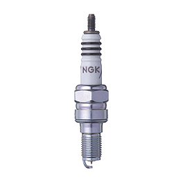 NGK Iridium IX Spark Plugs - 2007 Honda CB919F - 919 Galfer G1054 Semi-Metallic Brake Pads - Rear