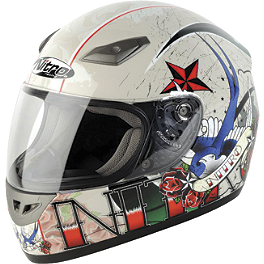 Nitro Helmet - Tattoo - Bell Arrow Helmet - Straffer