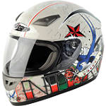 Nitro Helmet - Tattoo - Nitro Helmets Full Face Dirt Bike Helmets