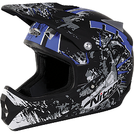 Nitro Youth Extreme MX Helmet - 2012 MSR Youth Assault Helmet - Metal Mulisha