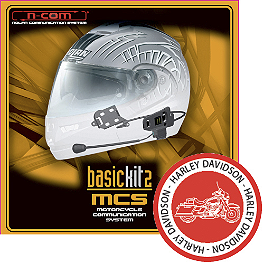 Nolan N-COM N103/90/43 Harley Davidson MCS 2 Complete Kit - Nolan N104/44 B1 Bluetooth Communication System - Twin Pack