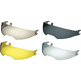 Nolan N104 VPS Shield - Show Chrome Finger Visor Wiper - 3 Pack