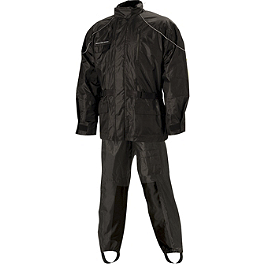 Nelson-Rigg AS-3000 Aston Two-Piece Rain Suit - Dainese Bruxelles Waterproof Two-Piece Rain Suit