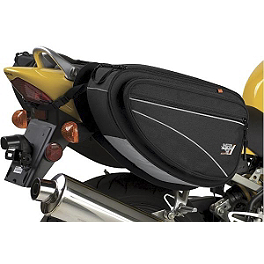 Nelson Rigg Classic Deluxe Saddlebag - Nelson-Rigg CL-1040 Jumbo Tank / Tail Bag With Mount Combo