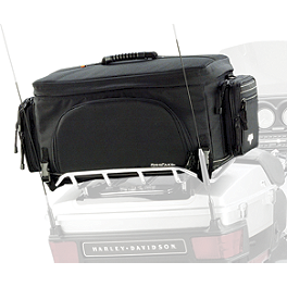 Nelson-Rigg Rear Rack Pack - Saddlemen TR3300DE Deluxe Rack Bag