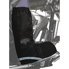Nelson-Rigg Waterproof Rain Boot Cover - Firstgear Rubber Overboots