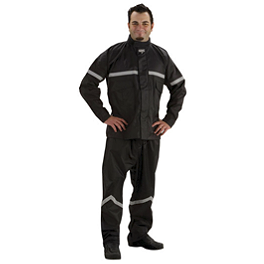 Nelson-Rigg Stormrider Two-Piece Rain Suit - Joe Rocket Honda Racing Soft Shell Jacket