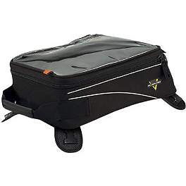 Nelson-Rigg CL-904 Standard Tank / Tail Bag With Mount Combo - Cycle Case Expander GPS Tank Bag Rain Cover