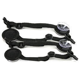 Nelson-Rigg Triple Threat Suction Cups - Nelson-Rigg Triple Threat Mounting Tailpack To Saddlebag Connecting Kit