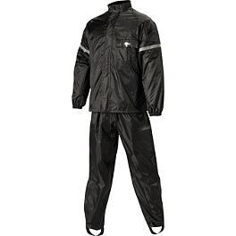 Nelson-Rigg WP-8000 Weatherpro Two-Piece Rain Suit - Nelson-Rigg Prostorm Two-Piece Rain Suit