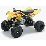 New Ray Toys Yoshimura Suzuki Quadracer ATV - 1:12 Scale - Motorcycle Gifts