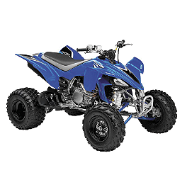 New Ray Toys Blue 2008 YFZ450 Die-Cast Quad - 1:12 Scale - New Ray Toys Red Bull Honda Die-Cast Replica Bike - 1:12 Scale