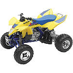 New Ray Toys 1:12 LTR450 ATV - Yellow - New Ray Toys Motorcycle Toys