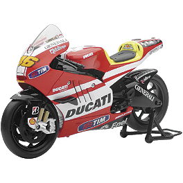 New Ray Toys 1:12 Moto GP Ducati Valentino Rossi Replica - New Ray Toys 1:12 Moto GP Yamaha Ben Spies #11 Replica