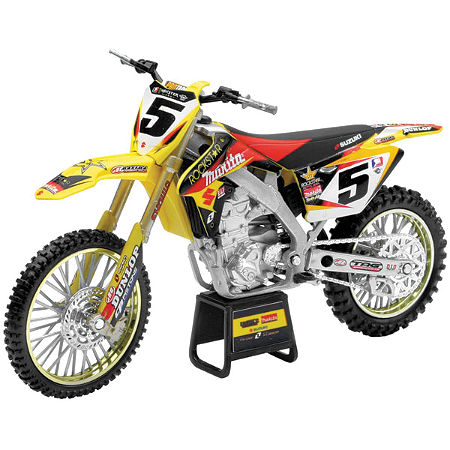 New Ray Toys 1:12 Scale Rockstar Makita Suzuki Ryan Dungey Replica - Main