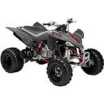 New Ray Toys 1:12 2008 Yamaha YFZ450 - Grey - New Ray Toys Motorcycle Toys
