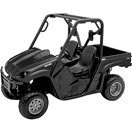New Ray Toys 1:12 2008 Yamaha Rhino 700 - Black - Kawasaki Genuine Accessories Traxxas Summit