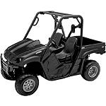 New Ray Toys 1:12 2008 Yamaha Rhino 700 - Black - New Ray Toys Utility ATV Gifts