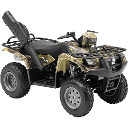 New Ray Toys 1:12 Suzuki Vinson 500 4x4 - Green Camo - New Ray Toys 1:12 Kawasaki KFX450R ATV - Green