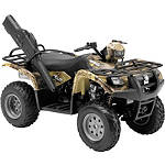 New Ray Toys 1:12 Suzuki Vinson 500 4x4 - Green Camo - FOUR Utility ATV Gifts