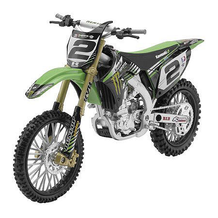 New Ray Toys 1:12 Monster Energy Kawasaki Ryan Villopoto - Main