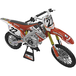 New Ray Toys 1:12 2012 Chad Reed 22 Motorsports - KTM Powerwear 450 SXF Model Bike