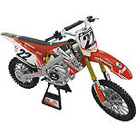 New Ray Toys 1:12 2012 Chad Reed 22 Motorsports - YOSHIMURA-ATV-2 Yoshimura ATV Dirt Bike