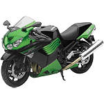 New Ray Toys 1:12 Kawasaki Ninja ZX-14 - Green - Dirt Bike Toys