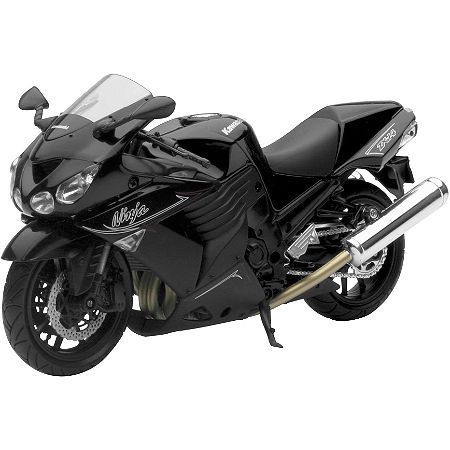 New Ray Toys 1:12 Kawasaki Ninja ZX-14 - Black - Main