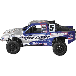 New Ray Toys 1:23 Travis Coyne Pro Comp Off-road Truck - SMOOTH INDUSTRIES MX SUPERSTARS LUNCH BOX