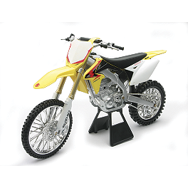 New Ray Toys 1:6 RMZ450 2010 - Suzuki Genuine Accessories Rear Shock Cover - Tribal Yellow