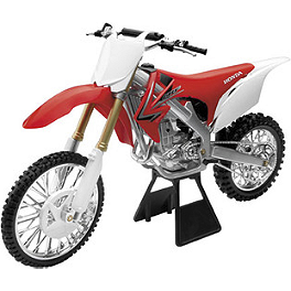 New Ray Toys 1:6 2012 Honda CRF450 - New Ray Toys 1:6 2012 Kawasaki KX450F