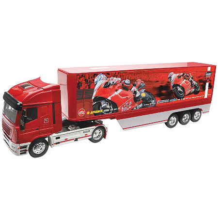 New Ray Toys 1:32 Scale Racing Rig - Ducati Racing Hayden / Stoner - Main