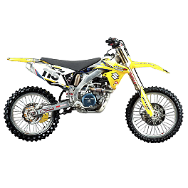 2011 N-Style Super Stock Graphics Kit - Suzuki - 2005 Suzuki RM85L N-Style All-Trac 2 Gripper Seat Cover
