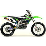 2012 N-Style Accelerator Graphics Kit - Kawasaki - N-Style Dirt Bike Graphic Kits With Seat Covers