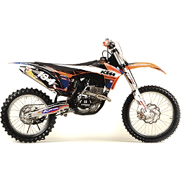 2012 N-Style Accelerator Graphics Kit - KTM - 2008 KTM 450SXF N-Style All-Trac 2 Gripper Seat Cover