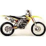 2012 N-Style Accelerator Graphics Kit - Suzuki - Dirt Bike Graphic Kits With Seat Covers