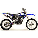 2012 N-Style Accelerator Graphics Kit - Yamaha - Dirt Bike Graphic Kits With Seat Covers