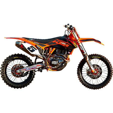 2012 N-Style Factory Team Graphics Kit - KTM - Main