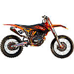 2012 N-Style Factory Team Graphics Kit - KTM - Dirt Bike Graphic Kits With Seat Covers