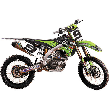 2012 N-Style Hart & Huntington Graphics Kit - Kawasaki - Main