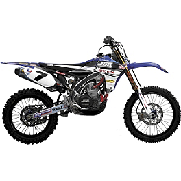 2012 N-Style JGR Graphics Kit - Yamaha - 2011 Yamaha YZ250 Limited Rim Decals - Yamaha 19