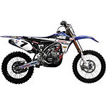2012 N-Style JGR Graphics Kit - Yamaha - N-Style Dirt Bike Graphic Kits With Seat Covers