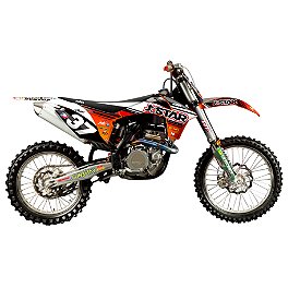 2012 N-Style JDR Team Graphics Kit - KTM - 2012 KTM 350SXF 2012 N-Style Factory Team Graphics Kit - KTM