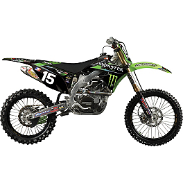2012 N-Style Pro Circuit Team Graphics Kit - Kawasaki - Factory Effex EVO 9 Graphics - Kawasaki