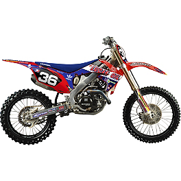 2012 N-Style Troy Lee Designs Graphics Kit - Honda - 2011 Honda CRF450R 2012 N-Style Ultra Graphics Kit - Honda